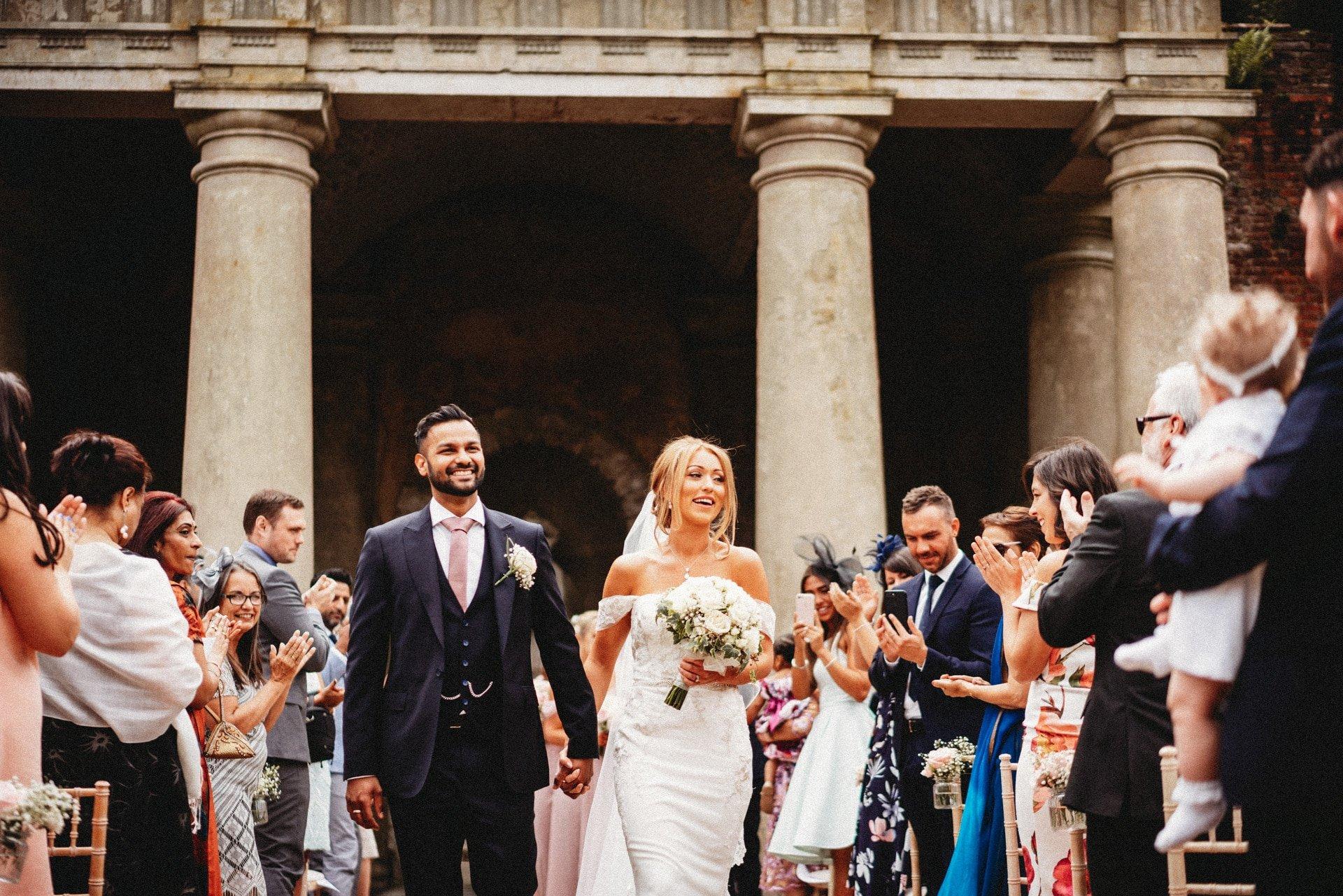 Wotton House Wedding Photographer Outdoor Ceremony