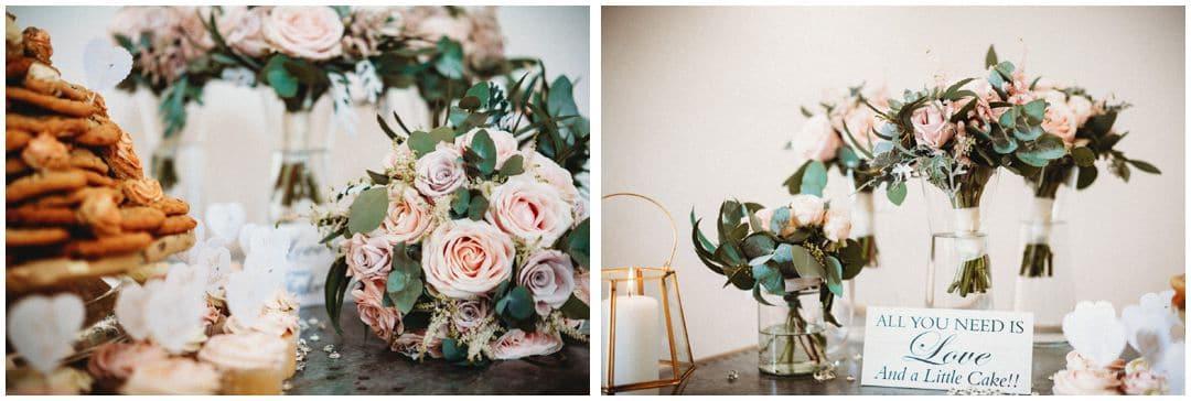 wedding flowers at millbridge court wedding