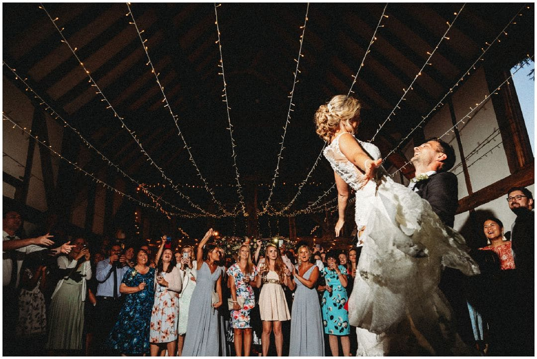Loseley Park Wedding Photography first dance