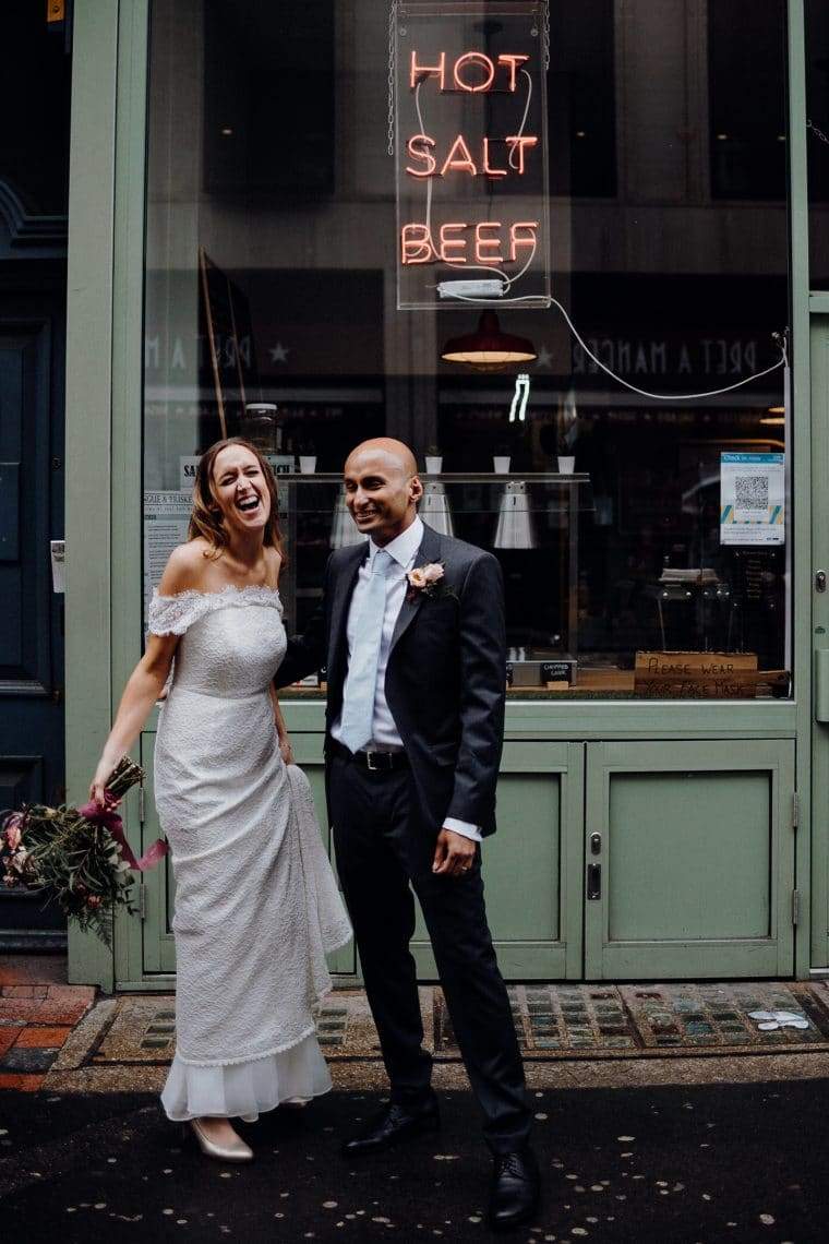 relaxed fun and natural wedding photography in london